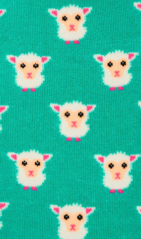 Ba Ba White Sheep Socks