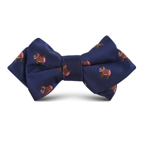 Baboon Kids Diamond Bow Tie