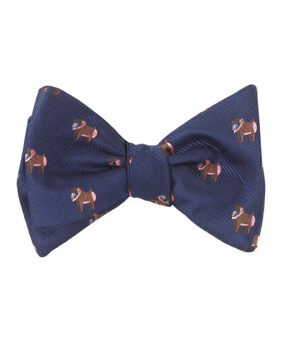 Baboon Self Bow Tie