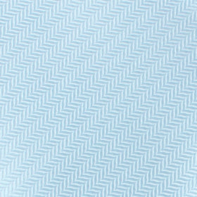 Baby Blue Herringbone Chevron Pocket Square