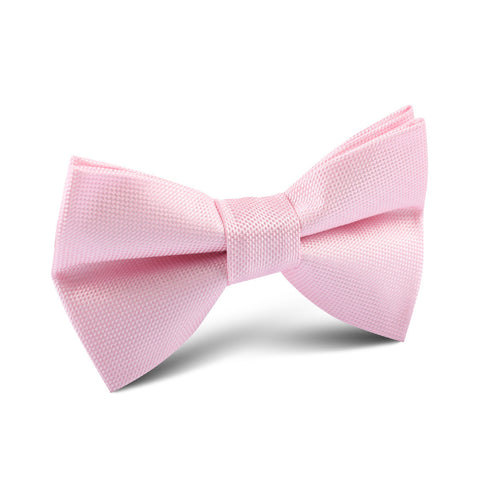 Baby Pink Kids Bow Tie