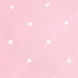 Baby Pink with White Polka Dots Self Tie Bow Tie OTAA Australia