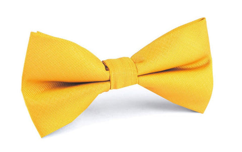 Banana Yellow Bow Tie