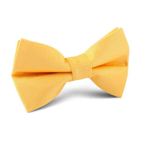 Banana Yellow Kids Bow Tie