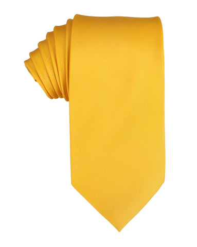 Banana Yellow Necktie