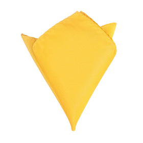 Banana Yellow Pocket Square