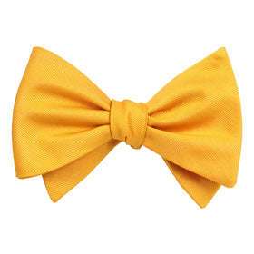 Banana Yellow Self Tie Bow Tie