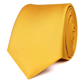 Banana Yellow Skinny Tie