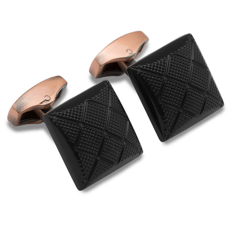 Bandersnatch Black Cufflinks