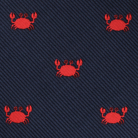 Beach Sand Crab Bow Tie