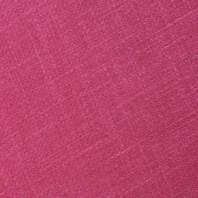 Begonia Hot Pink Linen Pocket Square