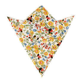 Belle Danser Floral Pocket Square