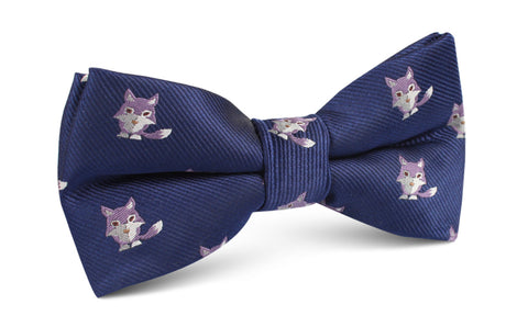 Bengal Wolf Bow Tie