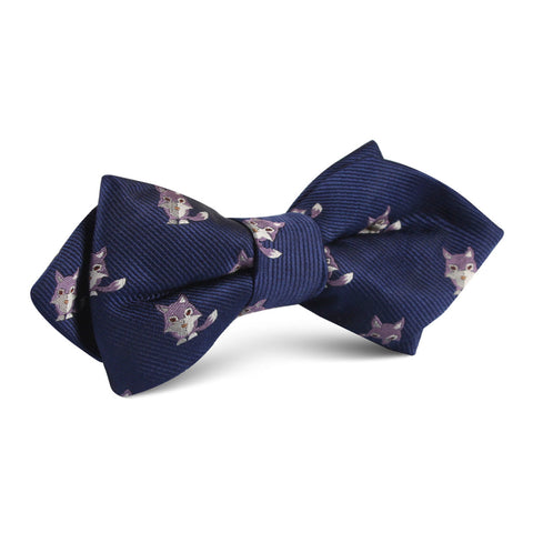 Bengal Wolf Diamond Bow Tie