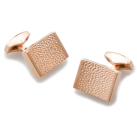 Bill Nighy Rose Gold Cufflinks