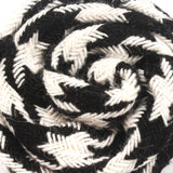 Hypnosis Spiral Black and White Lapel Flower Pin Close Boutonniere