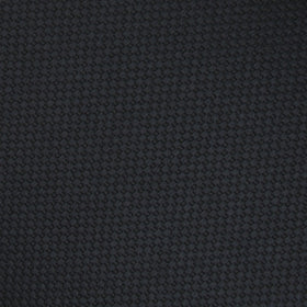 Black Basket Weave Pocket Square