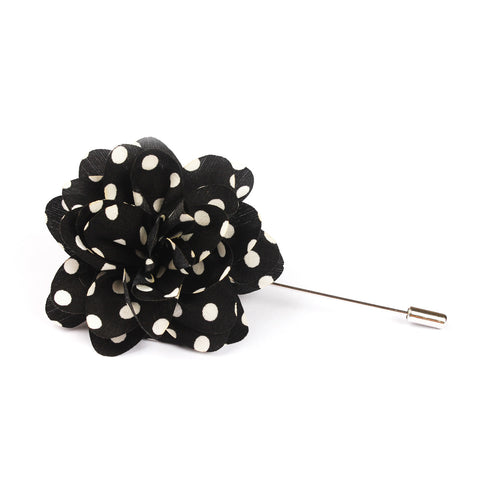 Black Caviar Lapel Flower