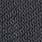 Black Houndstooth Pattern Fabric Self Tie Diamond Tip Bow TieM111