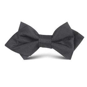 Black Kids Diamond Bow Tie
