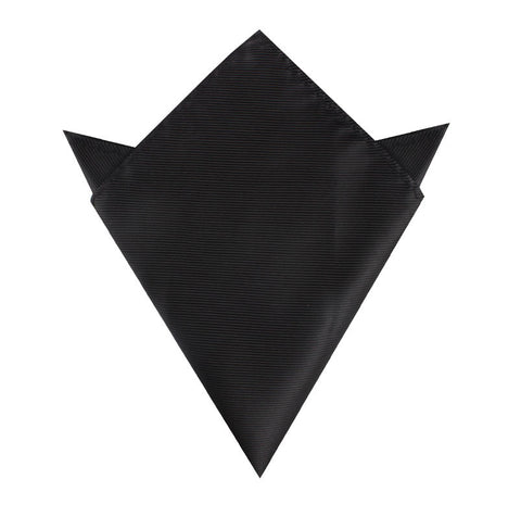 Black Line Pocket Square