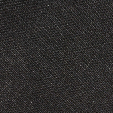 Black Linen Pocket Square