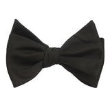 Black OTAA - Bow Tie (Untied) Self tied knot by OTAA