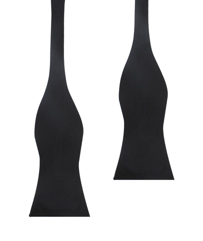 Black OTAA - Bow Tie (Untied)