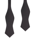 Black OTAA Self Tie Diamond Tip Bow Tie
