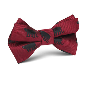 Black Panther Kids Bow Tie
