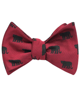 Black Panther Self Bow Tie