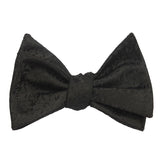 Black Pattern - Bow Tie (Untied) Self tied knot by OTAA