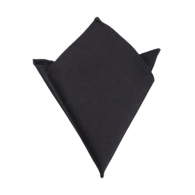 Bond Black - Pocket Square