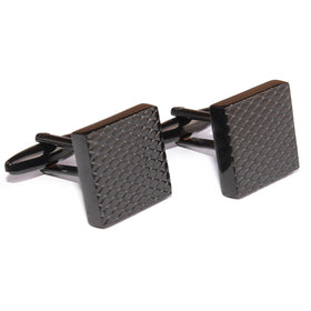 Black Square Cufflinks