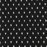 Black & White Pattern Knitted Tie Detail View