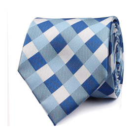 Blue Checkered Tie OTAA