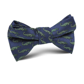 Blue Crocodile Dundee Kids Bow Tie