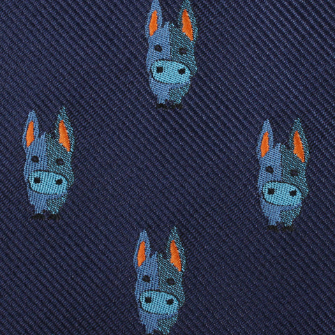 Blue Donkey Kids Diamond Bow Tie