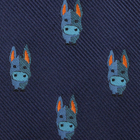 Blue Donkey Pocket Square