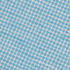 Blue Joy Houndstooth Linen Pocket Square