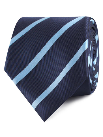 Blue Pencil Stripe Tie