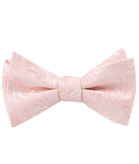 Blush Pink Khamsin Self Bow Tie