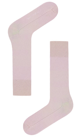Blush Pink Textured Socks