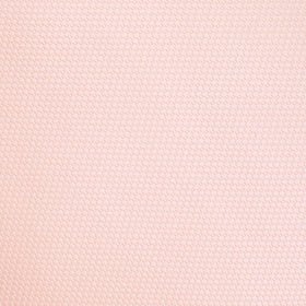 Blush Pink Basket Weave Pocket Square