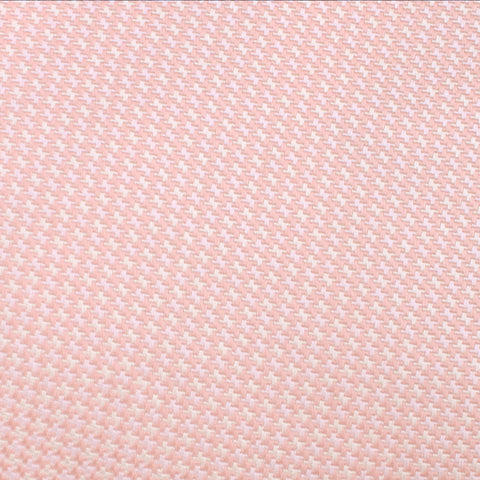 Blush Pink Houndstooth Bow Tie