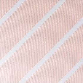 Blush Pink Striped Kids Bow Tie