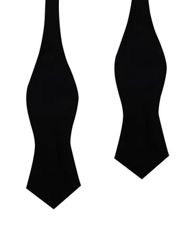 Bond Black Diamond Velvet Self Bow Tie