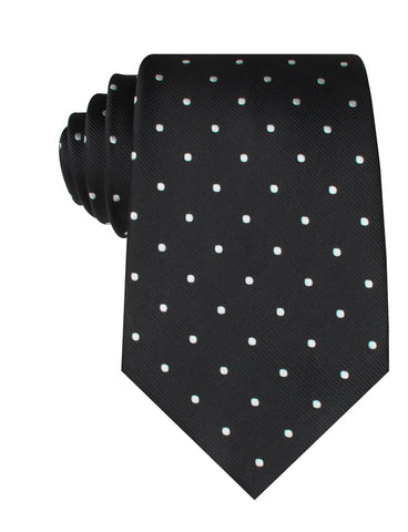 Bond Black Polka Dots Necktie