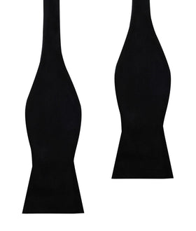 Bond Black Velvet Self Bow Tie