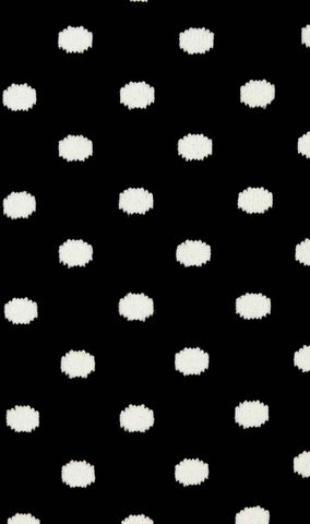 Bond Black White Dot Socks